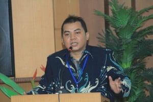 Pembukaan acara HUT FAA PPMI dan Reuni Alumni Persma Indonesia di Universitas Muria Kudus, Kudus, Jawa Tengah