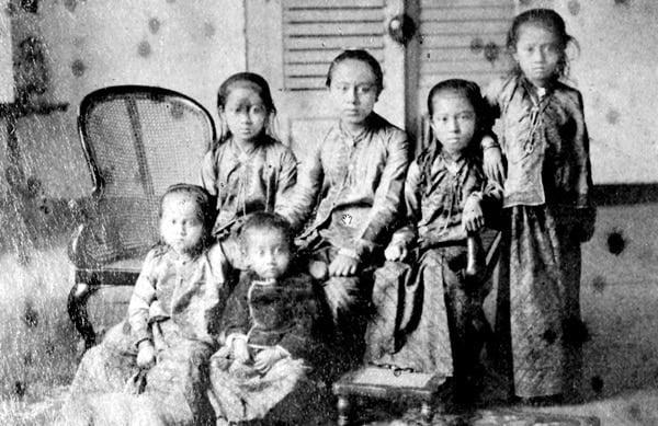 Kartini, Soelastri, Rukmini, Kardinah, Kartinah dan Rawito
