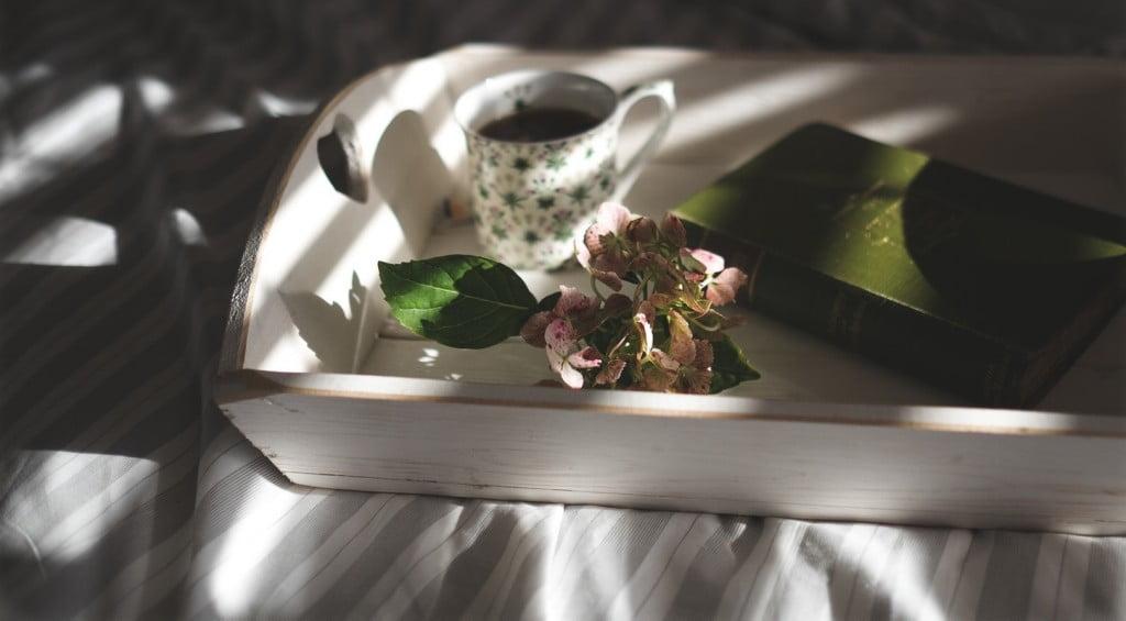 Ilustrasi sajian secangkir kopi, foto Annie S